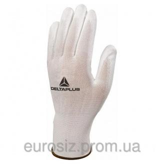 Перчатки рабочие DELTA PLUS с полиуретановым покрытием VE702