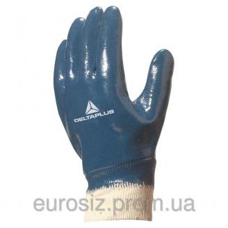 Перчатки рабочие нитриловые DELTA PLUS NI155