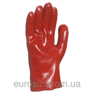 Перчатки защитные ПВХ DELTA PLUS PVC7327
