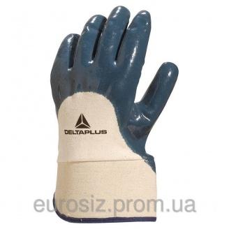 Перчатки рабочие нитриловые DELTA PLUS NI170