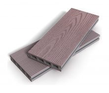 Террасная доска Zagu Exclusive 125x25x4500 мм штормовой серый
