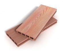 Террасная доска Zagu Exclusive 125x25x4500 мм розовое дерево