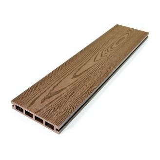 Террасная доска Zagu Terrace 126x22x3000 мм арабика