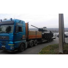 Оренда трала для негабаритних вантажних перевезень 30 т