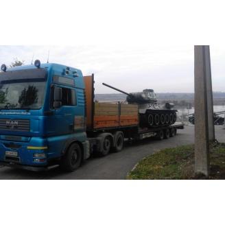 Аренда трала для негабаритных грузовых перевозок 30 т