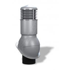 Вентиляционный выход Wirplast Normal К54 150x500 мм серый RAL 7046