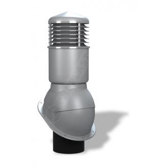 Вентиляційний вихід Wirplast Normal К54 150x500 мм сірий RAL 7046