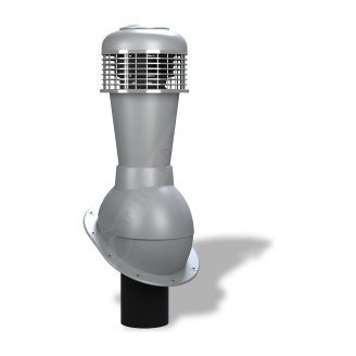 Вентиляційний вихід Wirplast Normal К43 110x500 мм сірий RAL 7046