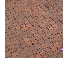 Тротуарная плитка Золотой Мандарин Креатив 60 мм сиена