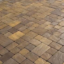 Тротуарна плитка Золотий Мандарин Венеція 60 мм генуя
