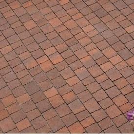 Тротуарна плитка Золотий Мандарин Креатив 60 мм сієна