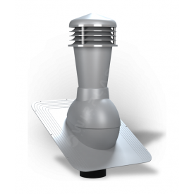 Вентиляционный выход Wirplast Standard К21 110x500 мм серый RAL 7046