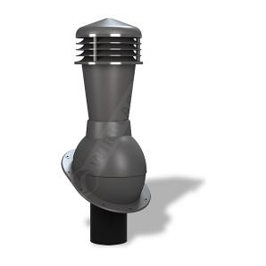 Вентиляционный выход Wirplast Normal К23 110x500 мм графитовый RAL 7024