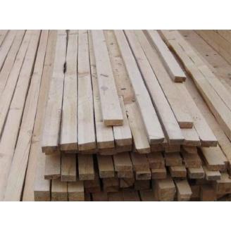 Деревянные латы для забора 50х50 мм
