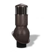 Вентиляционный выход Wirplast Normal К54 150x500 мм коричневый RAL 8019
