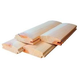 Блок Хаус сосновий обробний 20х90 мм 3 м