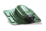 Проходной элемент Wirplast Uniwersal S25 зеленый RAL 6020