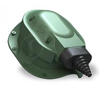 Прохідний елемент Wirplast Perfekta S48 зелений RAL 6020