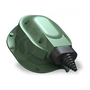 Проходной элемент Wirplast Perfekta S48 зеленый RAL 6020