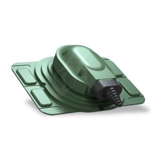 Прохідний елемент Wirplast Uniwersal S25 зелений RAL 6020