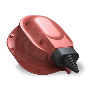 Прохідний елемент Wirplast Perfekta S48 червоний RAL 3009