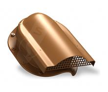 Вентилятор подкровельного пространства Wirplast Rolling P51 310x237 мм медный RAL 8003