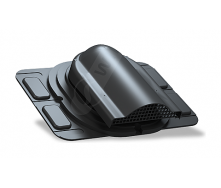 Вентилятор підпокрівельного простору Wirplast Optimum P20 285x210 мм чорний RAL 9005