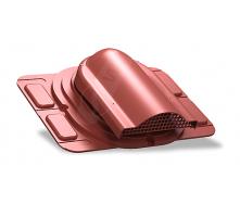 Вентилятор підпокрівельного простору Wirplast Optimum P20 285x210 мм червоний RAL 3009