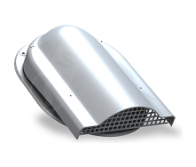 Вентилятор подкровельного пространства Wirplast Easy P19 310x237 мм cерый RAL 7046