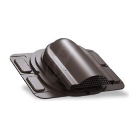 Вентилятор подкровельного пространства Wirplast Optimum P20 285x210 мм коричневый RAL 8019