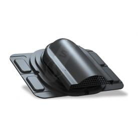 Вентилятор подкровельного пространства Wirplast Optimum P20 285x210 мм черный RAL 9005
