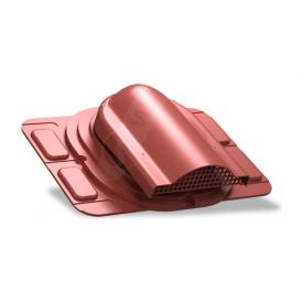 Вентилятор подкровельного пространства Wirplast Optimum P20 285x210 мм красный RAL 3009