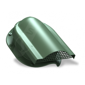 Вентилятор подкровельного пространства Wirplast Rolling P51 310x237 мм зеленый RAL 6020