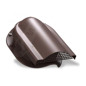 Вентилятор подкровельного пространства Wirplast Rolling P51 310x237 мм коричневый RAL 8017