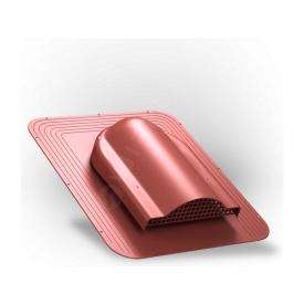 Вентилятор подкровельного пространства Wirplast Simple P17 468x390 мм красный RAL 3009