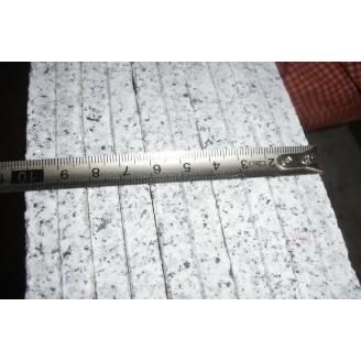 Гранитная плитка настенная для внутренней отделки помещений 600х600х10 мм светло-серая