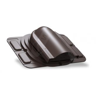 Вентилятор підпокрівельного простору Wirplast Optimum P20 285x210 мм коричневий RAL 8019