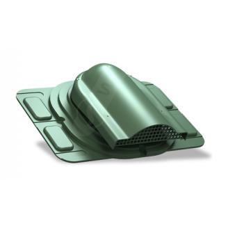 Вентилятор підпокрівельного простору Wirplast Optimum P20 285x210 мм зелений RAL 6020