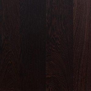 Паркетная доска Serifoglu однополосная Венге Люкс UV-Масло Брашь Seriloc 1805x146x14 мм