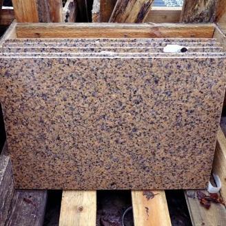 Плитка гранітна Withered 10 мм червоно-коричнева