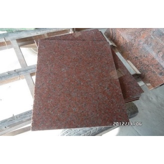 Плитка гранитная Carpazi 10 мм бордово-красная