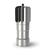 Ковпак для вентиляційного виходу Wirplast Tulpe TU-OCAL 110x488 мм сталь