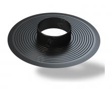 Основание для колпака Wirplast Flat Base U32 110 мм черный RAL 9005