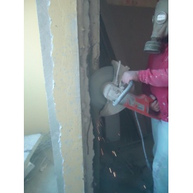 Резка бетонных проемов