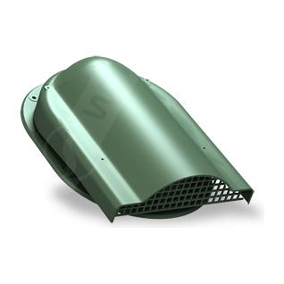 Вентилятор подкровельного пространства Wirplast Easy P19 310x237 мм зеленый RAL 6020
