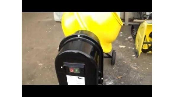 Відео огляд бетономішалки Кентавр