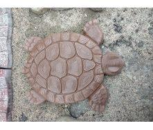 Садовий декор Черепаха 400х340х38 мм коричнева