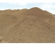 Песок строительный мытый фракции 2,5-3 мм