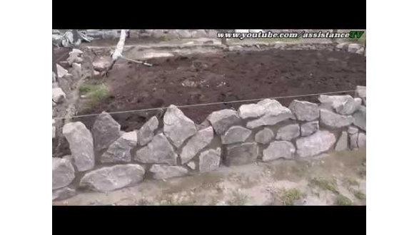 Поради з укладання фундаменту з бутового каменю