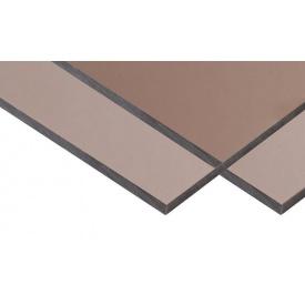 Монолитный поликарбонат TM SOTON 2 мм бронза